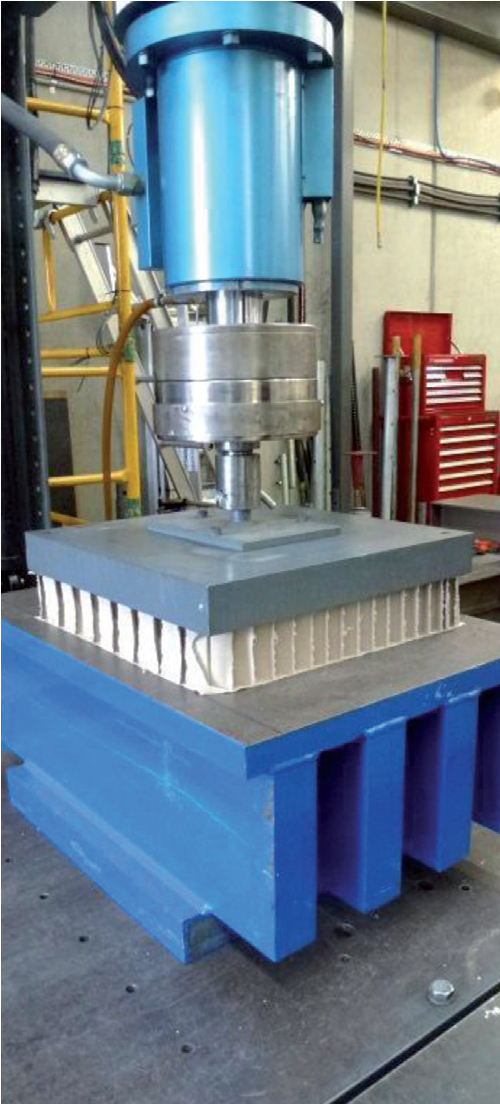 EPH FilaVOID compressive load test